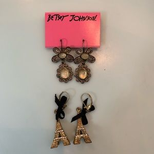 Betsey Johnson Golden Bundle